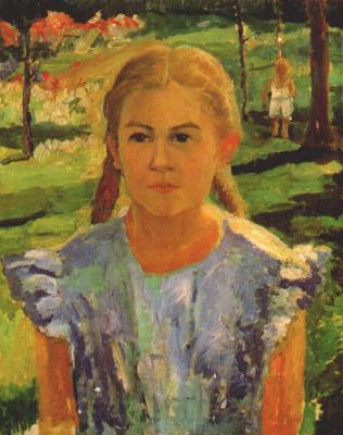 Казимир Северинович Малевич. Портрет Уны