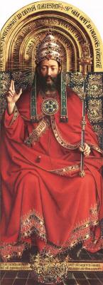 Ян ван Эйк. Бог Всемогущий