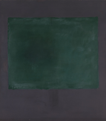 Rothko Mark. Green to purple