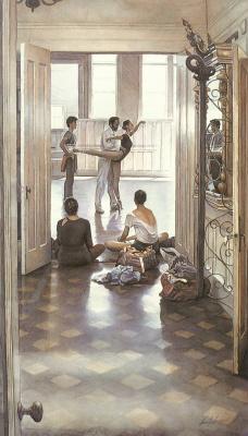 Steve Hanks. Academy of ballet