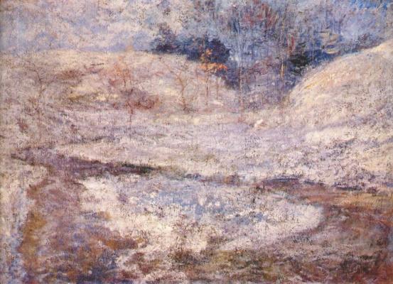 John Henry Twachtman. Brook , Greenwich , Connecticut