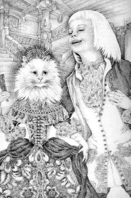 Адриенн Сегур. Королева-кошка 01