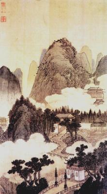 Shen Zhou. Landscape 035