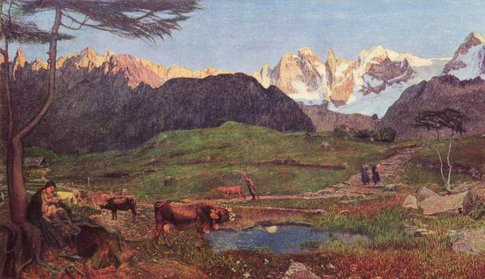 Джованни Сегантини. Альпийский триптих. Становление