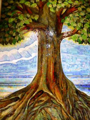 Constantine Socks. Tree of Life