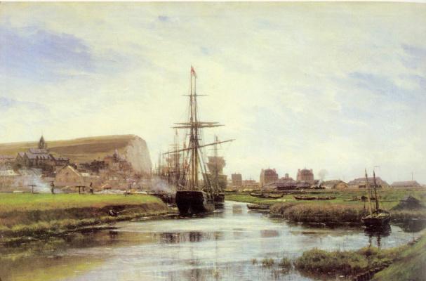 Alexey Petrovich Bogolyubov. Treport. Normandy
