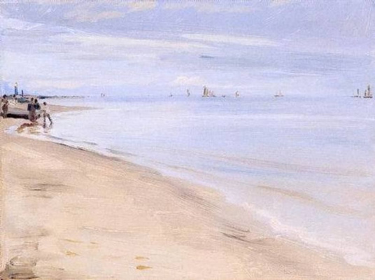 Peder Severin Kreyer. Playa de Skagen