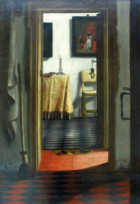 Samuel van Hogstraaten. Interior. View corridor