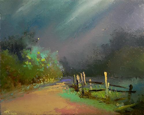 Vadim Anatolyevich Stolyarov. In anticipation of the night rain