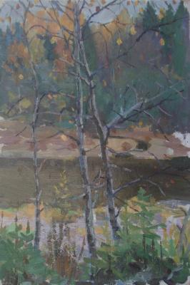 Nina Vasilievna Sedova. Late fall