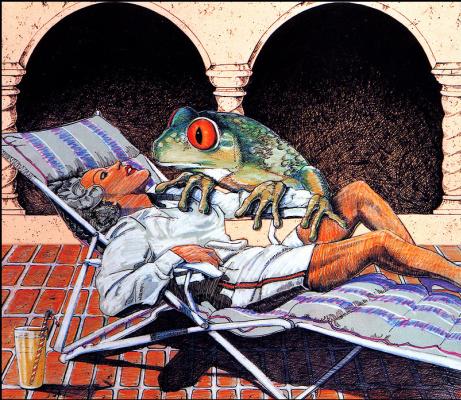 Уильям Рид. Жаба