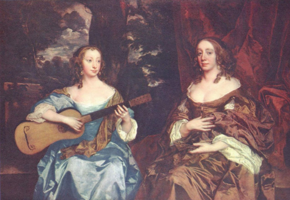 Sir peter leli. Two ladies from the lake family