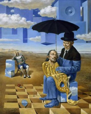 Mikhail Khokhlachov. Lullaby of uncle Magritte