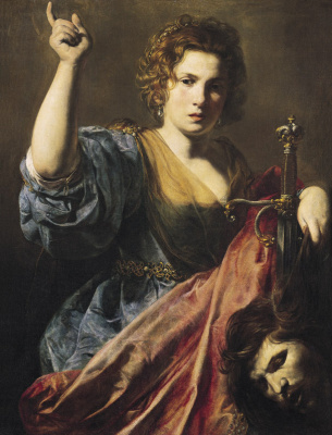 Valentine de Boulogne. Judith with the head of Holofernes