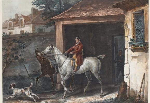Выезд из конюшни