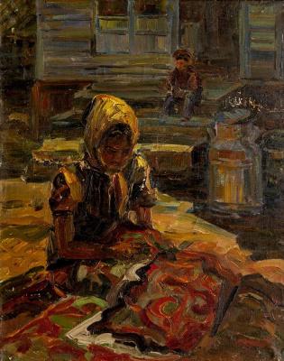 Кубанычбек Аманкожоев. Рукодельница