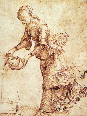 Доменико Гирландайо. Дама с графином