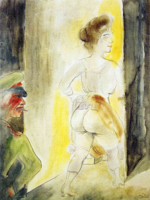Otto Dix. Alone in Brussels