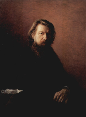 Nikolai Nikolaevich Ge. Portrait of the writer Aleksey Antonovich Potekhina
