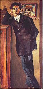 Arnold Franz Walter Schoenberg. Portrait Of Berg