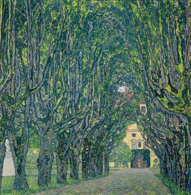 Густав Климт. Аллея в парке дворца Каммер
