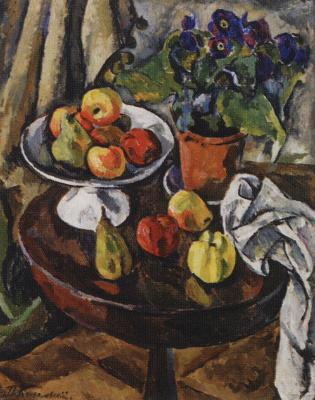 Petr Petrovich Konchalovsky. Still life. Fruit