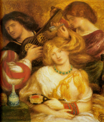 Dante Gabriel Rossetti. Morning music