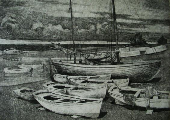 Anatoly Yaroslavtsev. Shore.