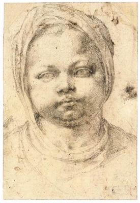 Michelangelo Buonarroti. Portrait of a child