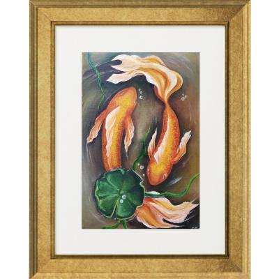 Elena Lobanova. Goldfish