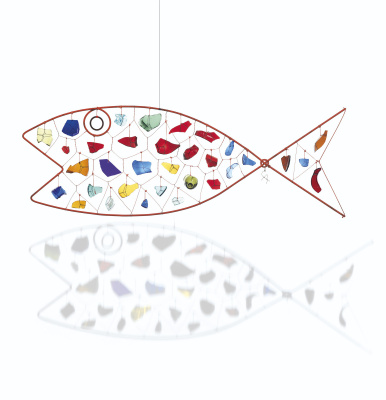 Александр Колдер. A fish
