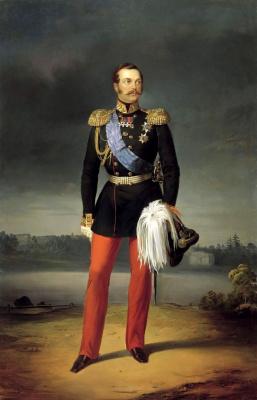 Егор Иванович Ботман. Портрет Александра II