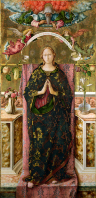 Carlo Crivelli. Immaculate conception