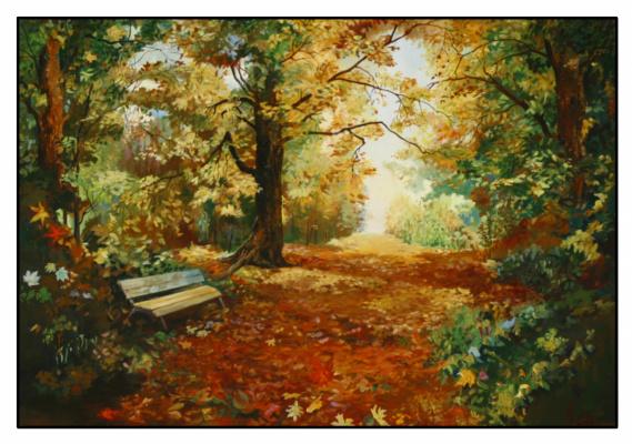 Андрей Богданов. Осенний пейзаж
