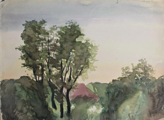 Anatoly Sergeevich Melkov. Landscape