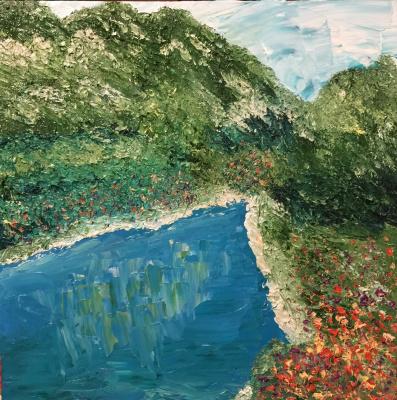 Victoria Valentinovna Zachkova. Lake
