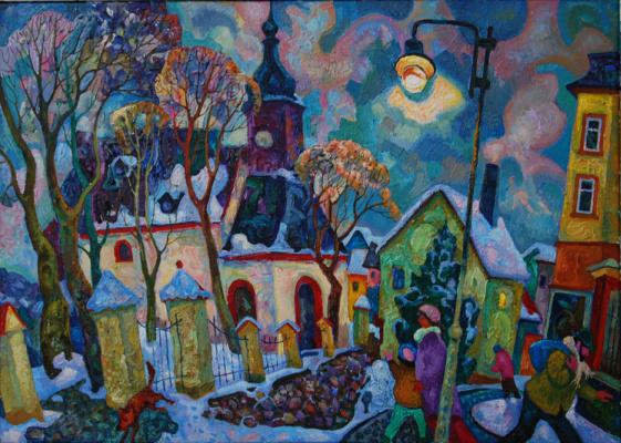 Michael Chernyavsky. Christmas Eve