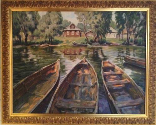 Boris Petrovich Gorodilin. Boats