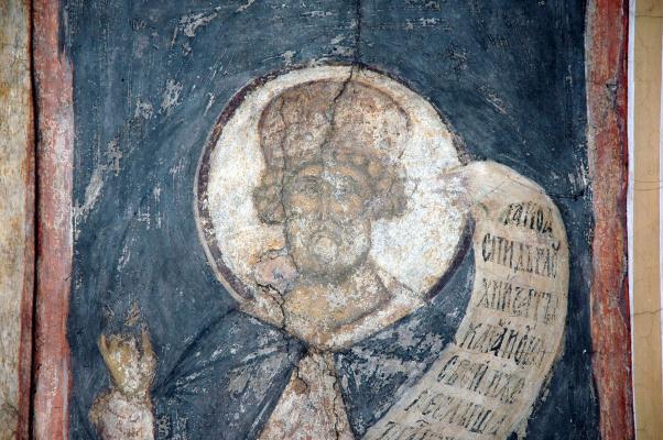 Andrey Rublev. Last Judgment: King David