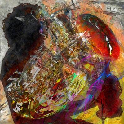 Vladimir Lazarenko-Manevich. Jazz. Combustion