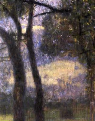 Gustav Klimt. The garden of the monastery of SV. Agatha (detail)