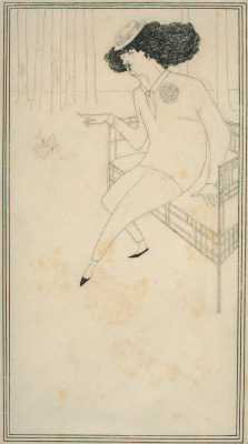 Aubrey Beardsley. James Whistler