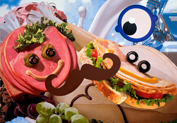Jeff Koons. Sandwiches