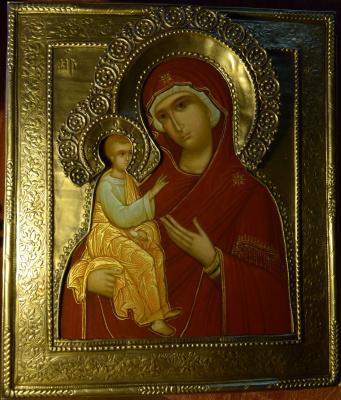 Геннадий Викторович Бабенко. Иерусалимская икона Божией Матери.