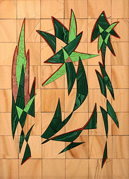 Boris Lazarevich Oshkukov. Ceylon, Florentine mosaic