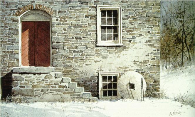 Рэй Хендершот. Красная дверь