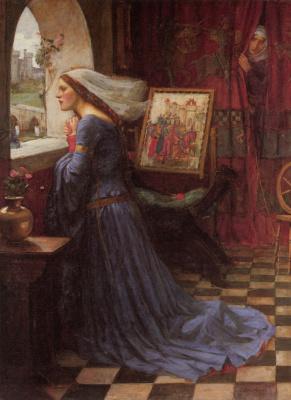 John William Waterhouse. Fair Rosamund