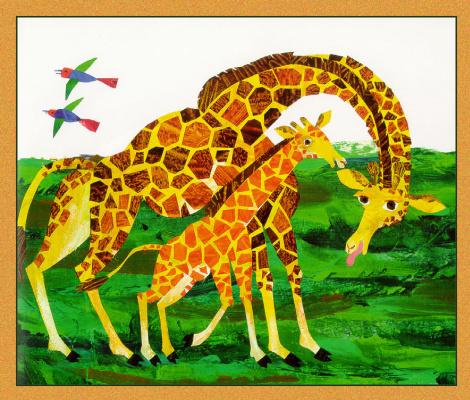 Карл Эрик. Жирафы