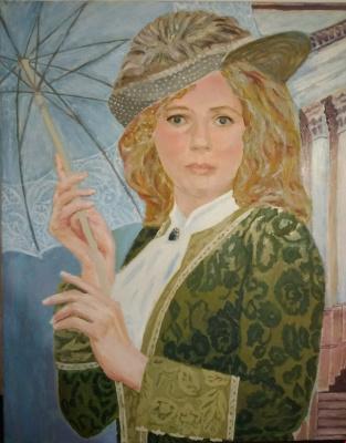 Olga Polovtsy. Portrait of Svetlana.