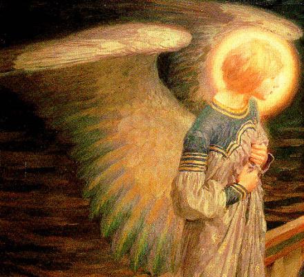 Фред Стед. Помощь ангела